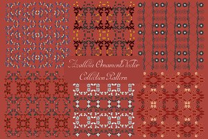 Azalleia Ornaments Vector Pattern