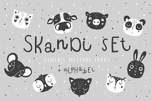 Scandi Animal Set - Vol.1 ♥