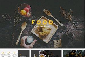 The Food Google Slide Template