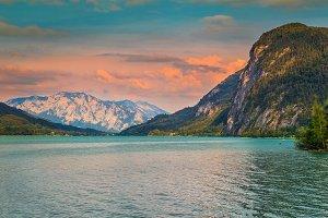 Lake Mondsee in Austria