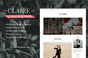 Claire - Elegant Personal Blog Theme