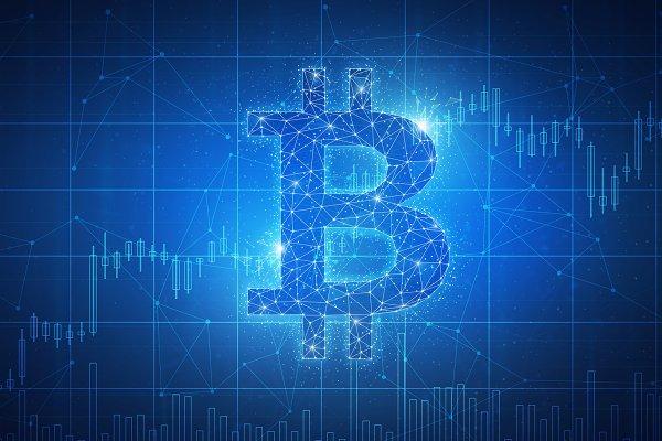 Bitcoin coin blockchain technology…