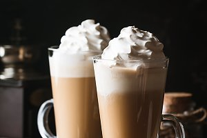 Cold coffee drink