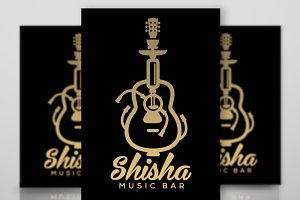 Logo Smoking Shisha Music Bar