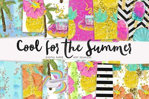 Cool for the Summer Paper Set