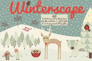 Winterscape! 42 Ice Cold Doodles...