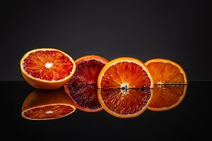 Fresh blood orange
