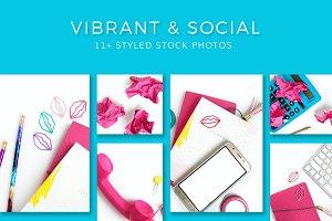 Pink & Social (11+ Stock Photos)