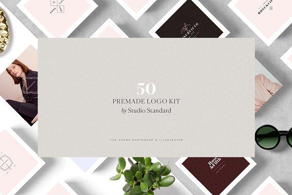 50 Logos — Brand Kit