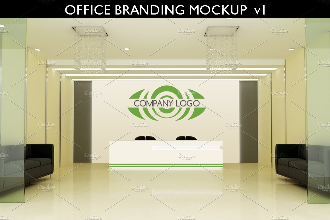 Office Branding Mockup V1 Product Mockups Creative Market