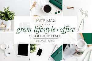 Green Lifestyle Stock Photo Bundle