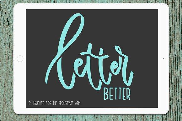Letter Better For Procreate App