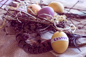 art easter eggs