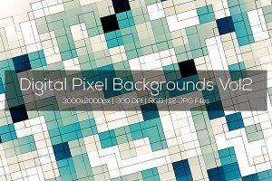 Digital Pixel Backgrounds Vol2