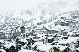 Zermatt village, Switzerland