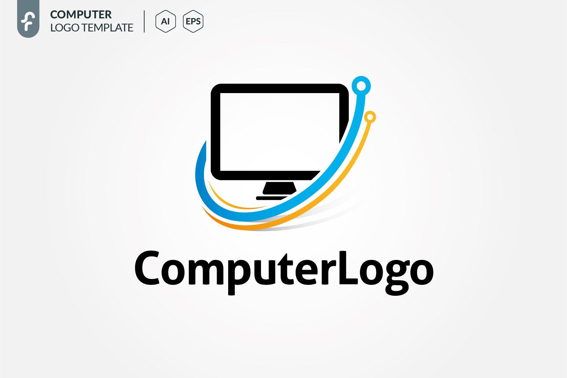 Computer Logo ~ Logo Templates ~ Creative Market