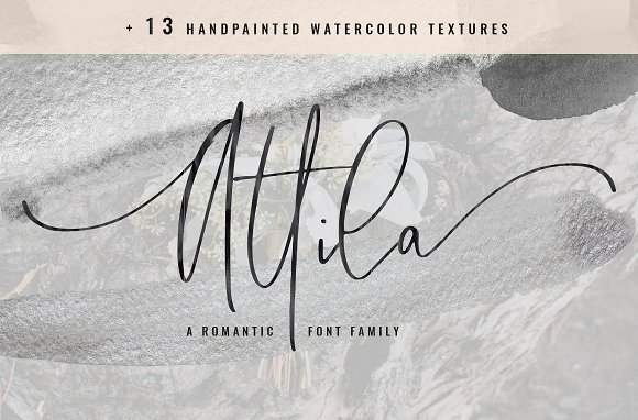 105 in 1 | Hand-Lettered Font Bundle in Script Fonts - product preview 4