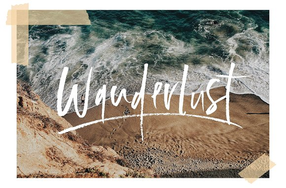 105 in 1 | Hand-Lettered Font Bundle in Script Fonts - product preview 13