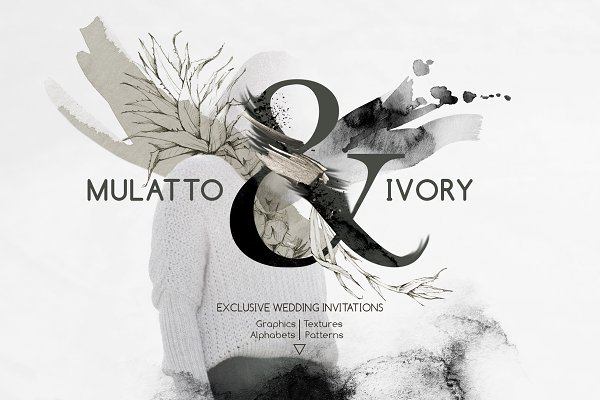 "Objects: Anastezia Luneva - ""MULATTO & IVORY"" Graphic Collection"