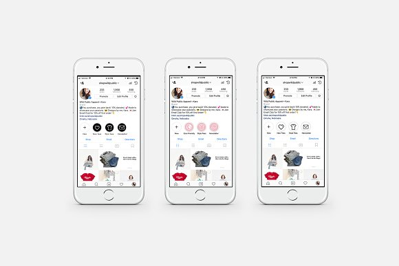 40 Instagram Stories Highlight Icons in Instagram Templates - product preview 3