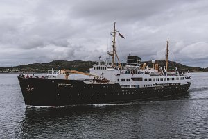 Old Excursion Ship in Norway