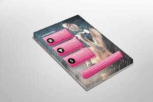 Fitnesio Gym, Fitness Flyer Template