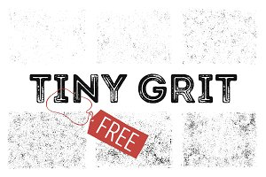 "6 FREE Grit Textures ""Tiny Grit"""