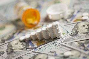 Pills, Increasing Graph on Money