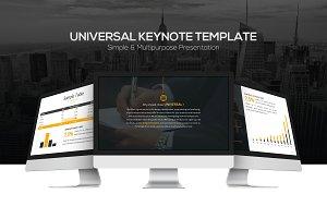 Universal Keynote Template