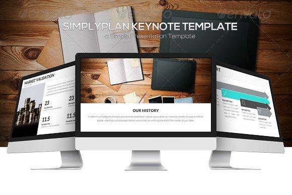 Simplyplan Keynote Template
