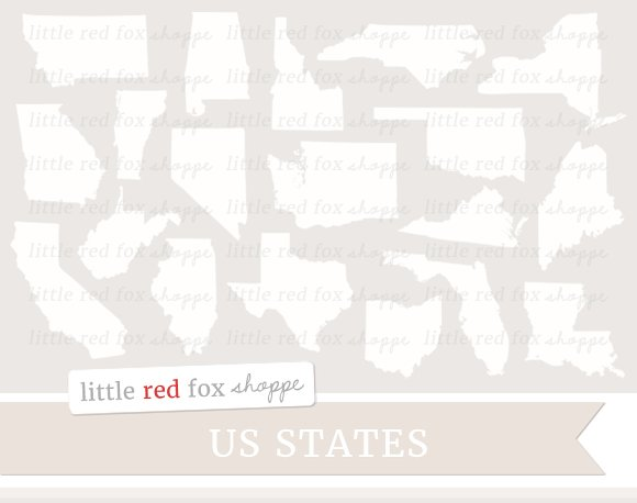 US State Clipart