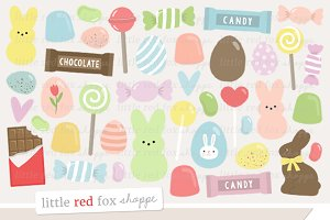 Easter Candy Clipart