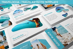 Travelocha - Travel Keynote Template