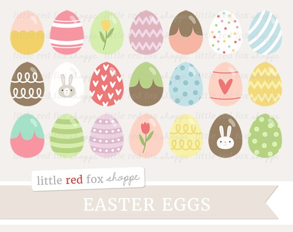 easter egg creativemarket pixels tall wide 400 150 clipart eggs clip global visit cute fox
