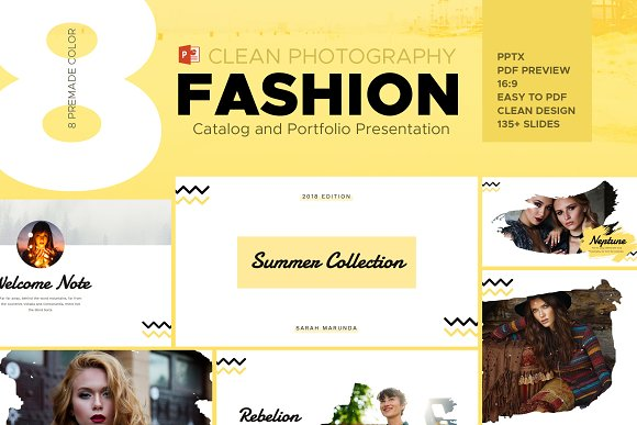 Fashion Catalog And Photography PPT