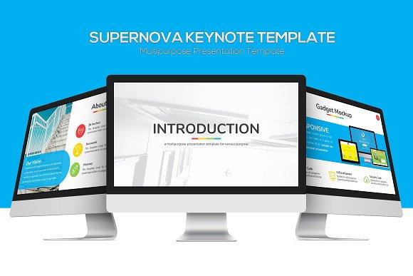 Supernova Multipurpose Keynote Pre