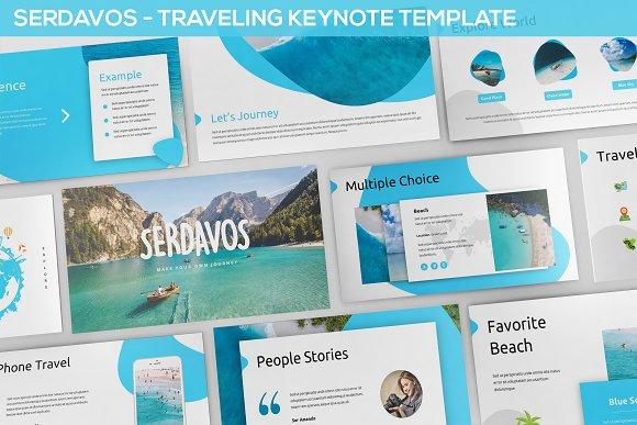 Serdavos Traveling Keynote Templat
