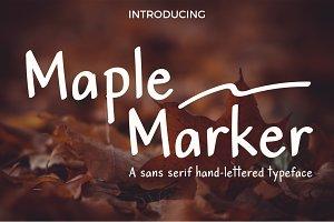 Maple Marker sans serif