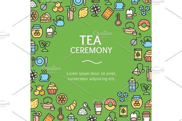 Tea Ceremony Round Design