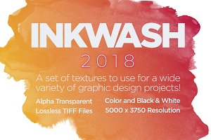 Inkwash 2018 Companion Textures