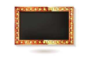 Set Gold and Silver frames