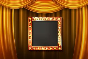Big Set Gold frame