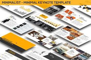 Minimalist - Minimal Keynote Templat