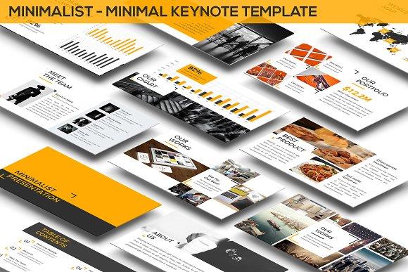 Minimalist Minimal Keynote Templat