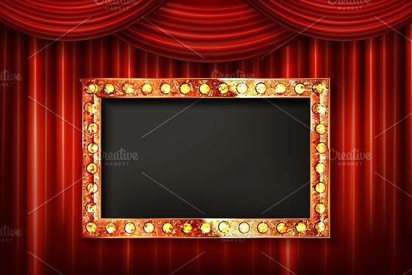 Big Set Gold Frame