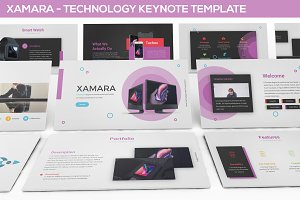 XAMARA - Technology Keynote Template