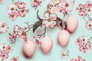 Easter pastel pattern