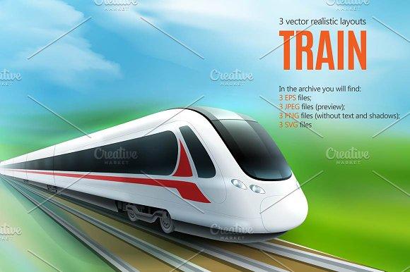 Speed Train Set