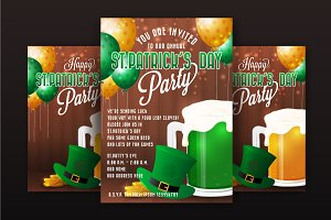 St Patrick Day Party Invitation