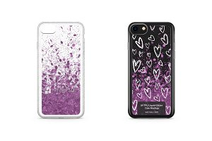 Apple iPhone 7 UV TPU Liquid Glitter